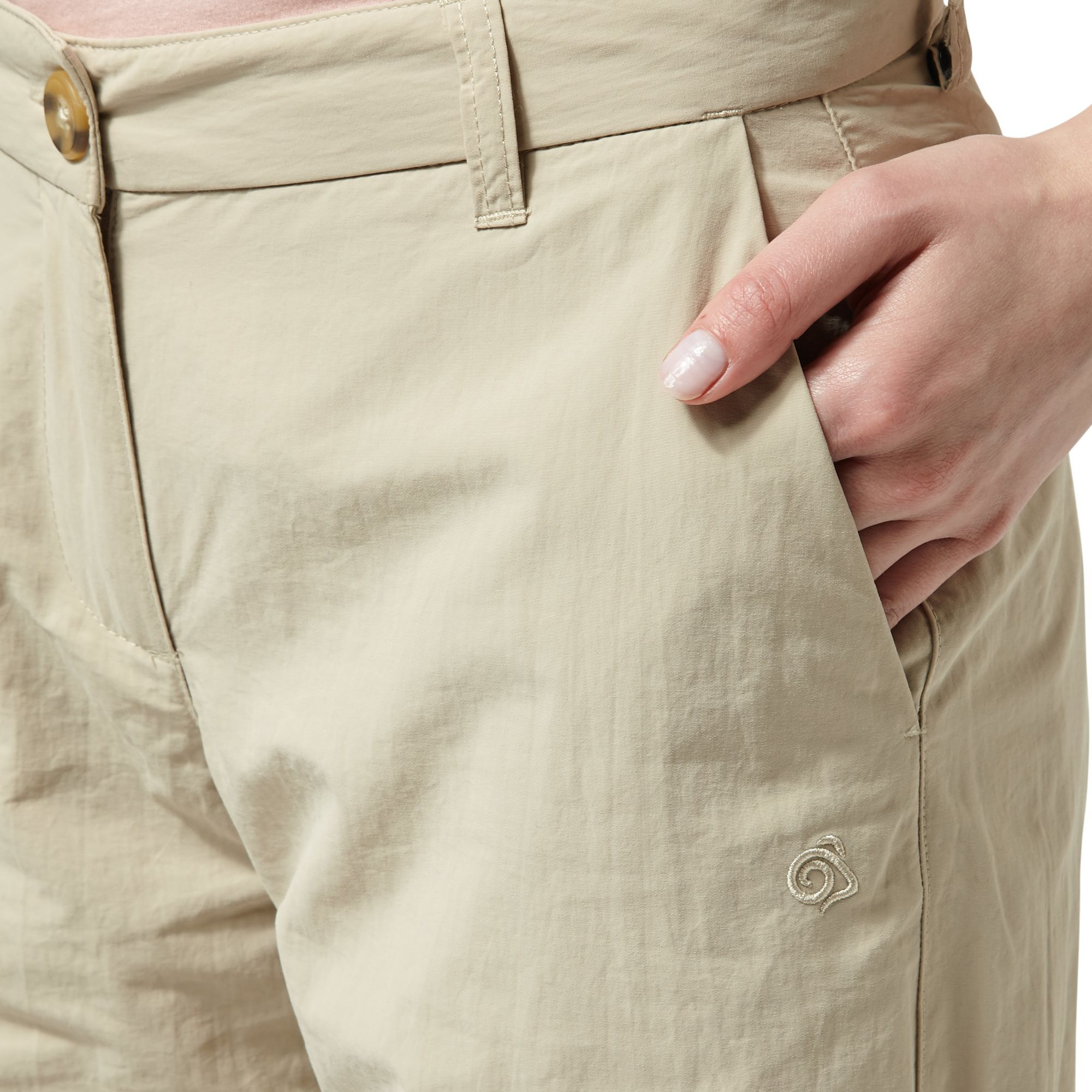 Craghoppers Womens/Ladies NosiLife Zip Off Trousers