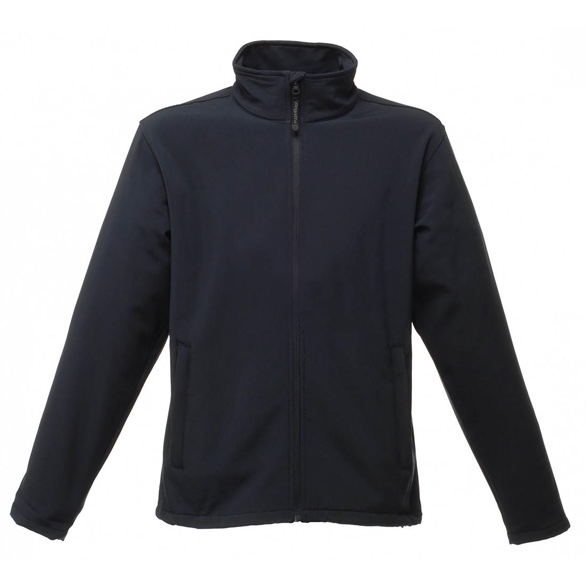 Regatta Reid Mens Softshell Wind Resistant Water Repellent Jacket