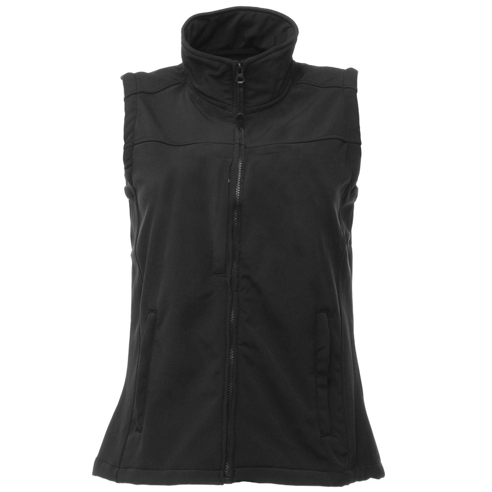 Regatta Womens/Ladies Flux Softshell Bodywarmer / Sleeveless Jacket (Water Repellent & Wind Resistant)