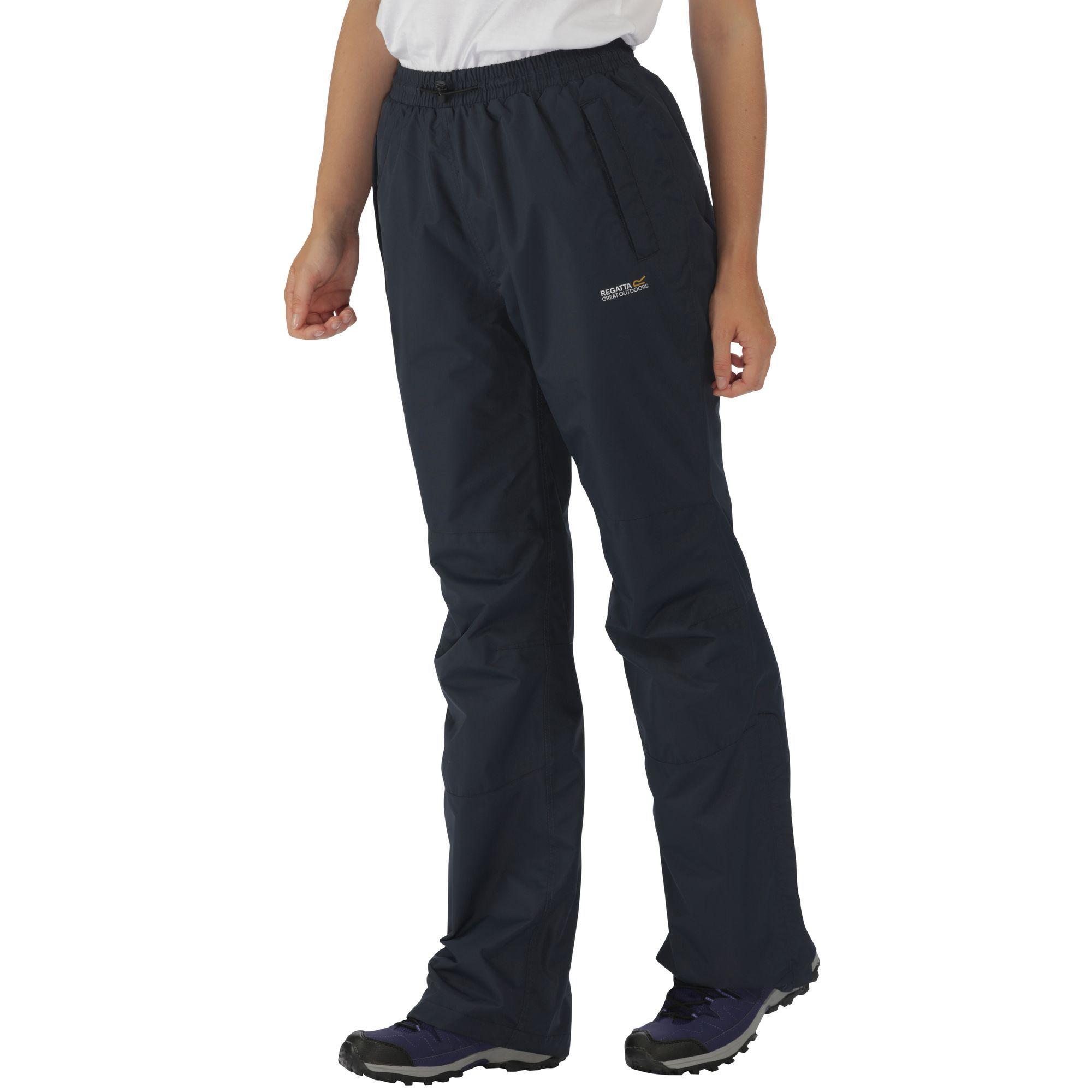 Regatta Great Outdoors Womens/Ladies Amelie III Waterproof Overtrousers (Long Leg)