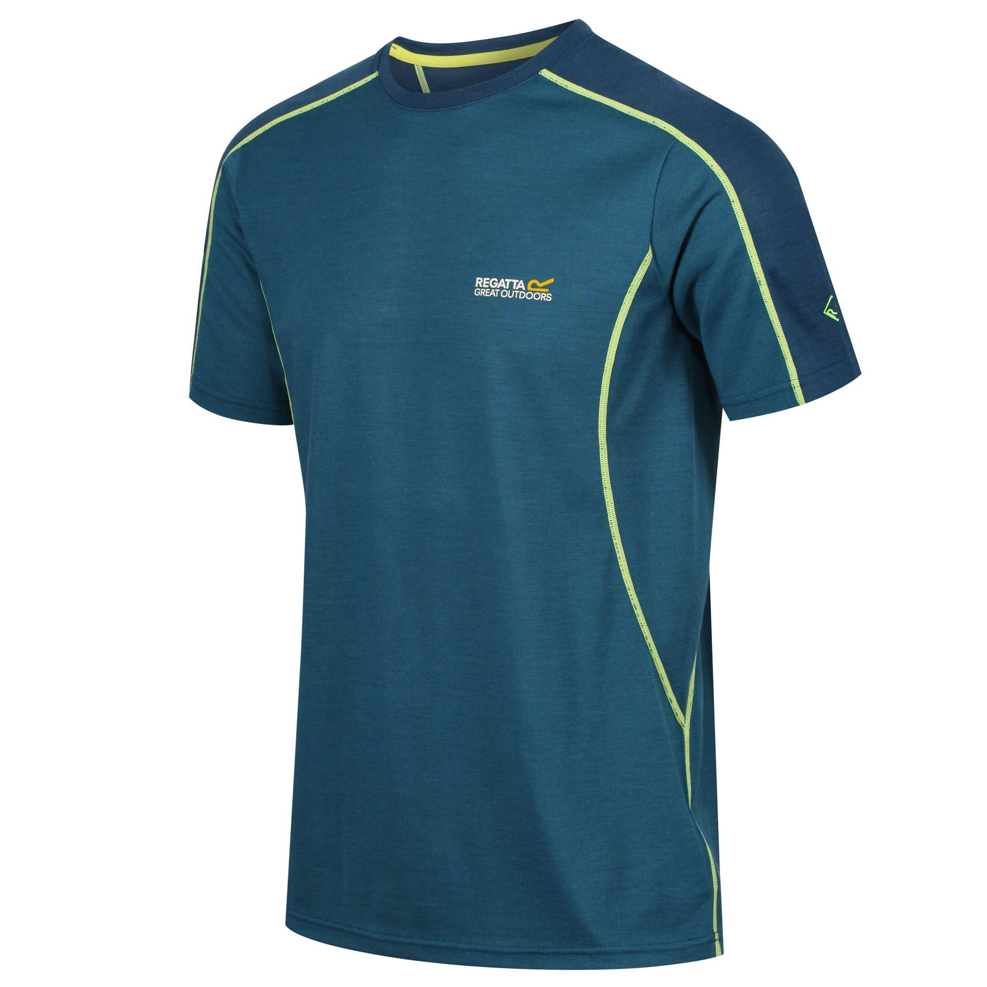 Regatta Mens Tornell Super Soft Merino Wool T-Shirt