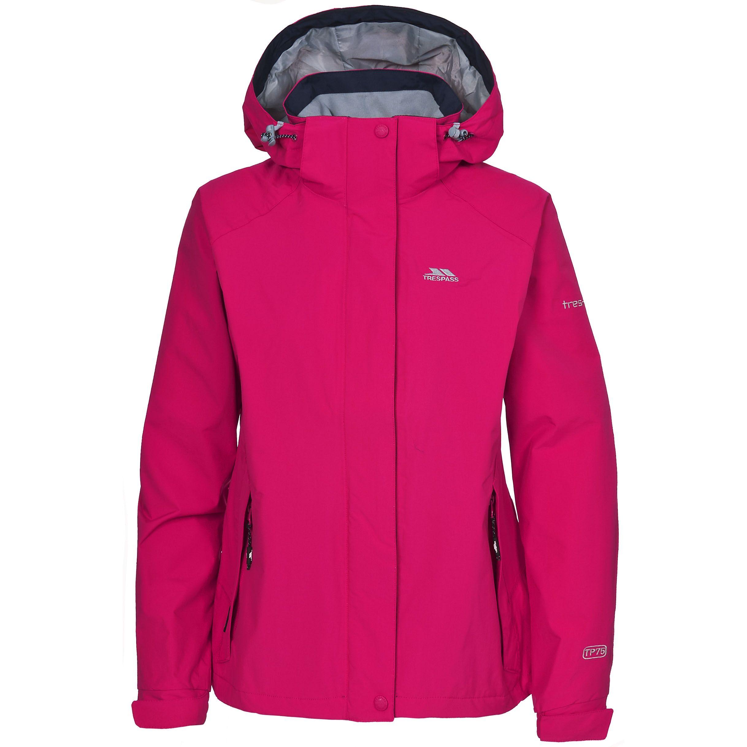 Trespass Womens/Ladies Florissant Hooded Waterproof Jacket