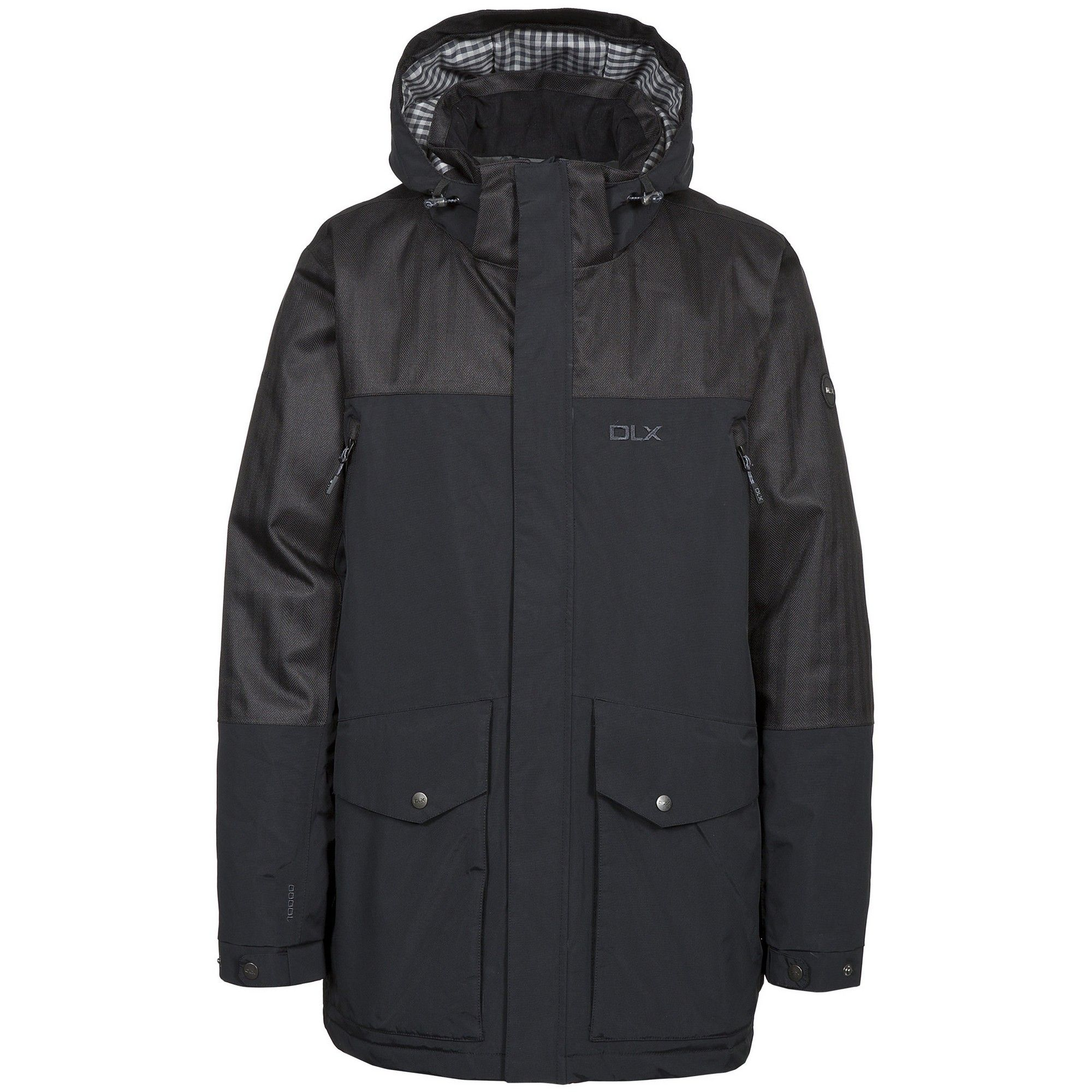 Trespass Mens Larken Waterproof DLX Jacket