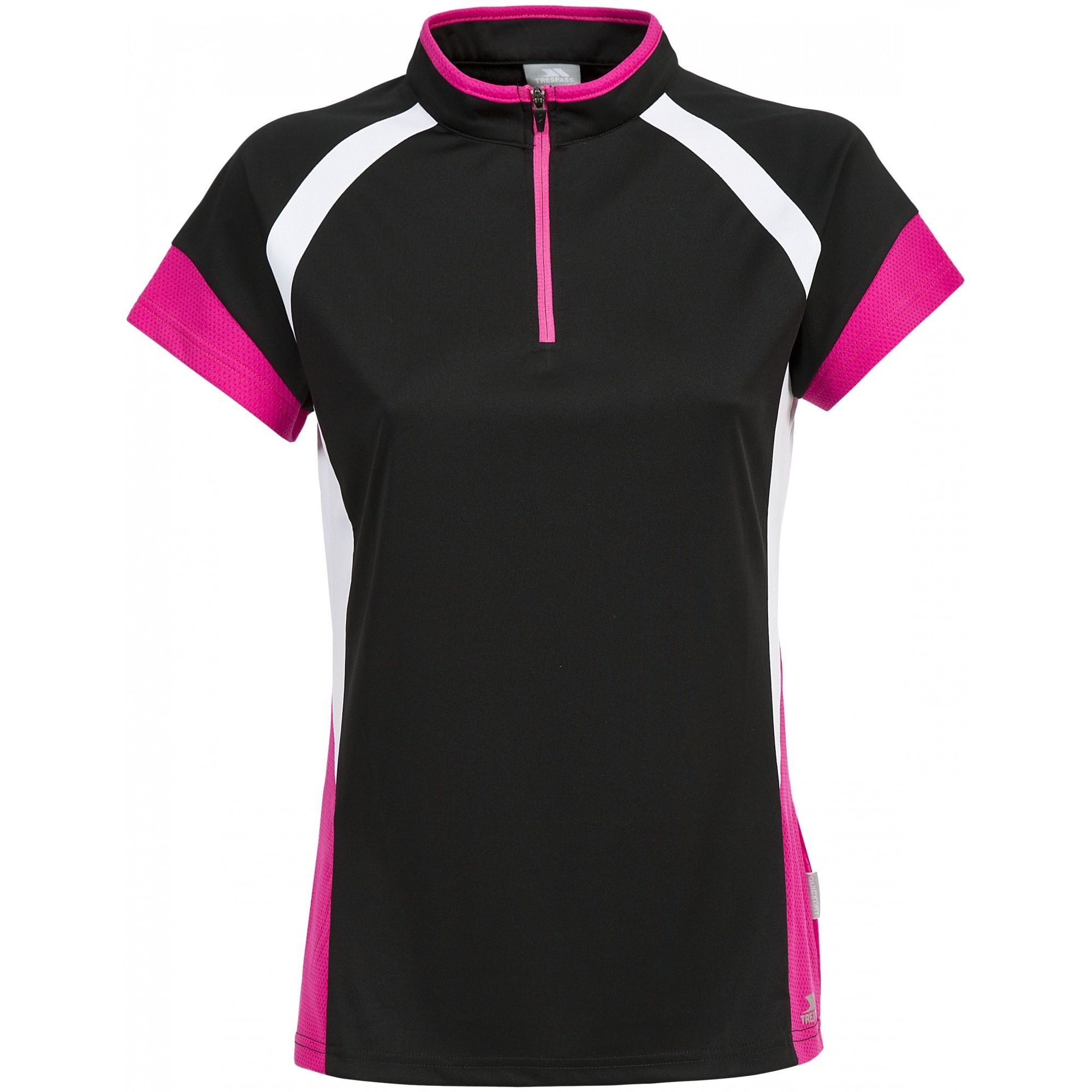 Trespass Womens/Ladies Harpa Short Sleeve Cycling Top