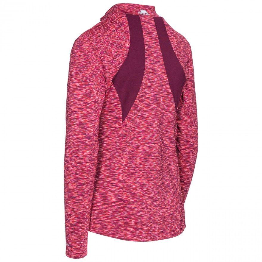 Trespass Womens/Ladies Indira Long Sleeve Full Zip Active Top