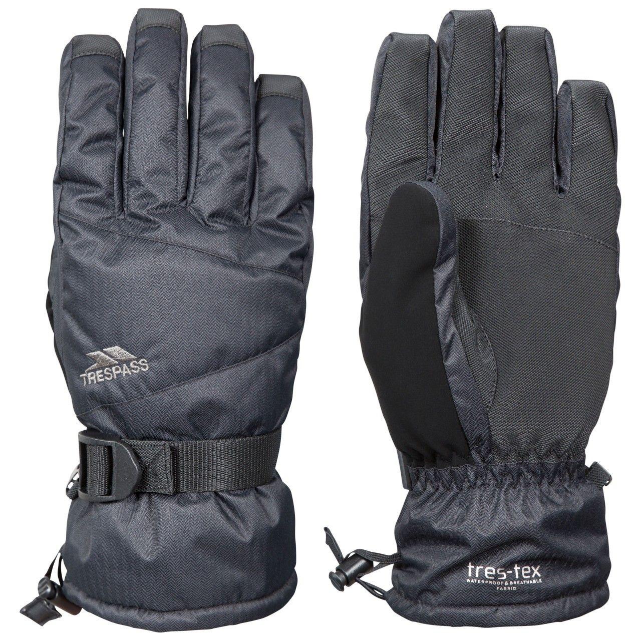 Trespass Mens Punch Waterproof Ski Gloves