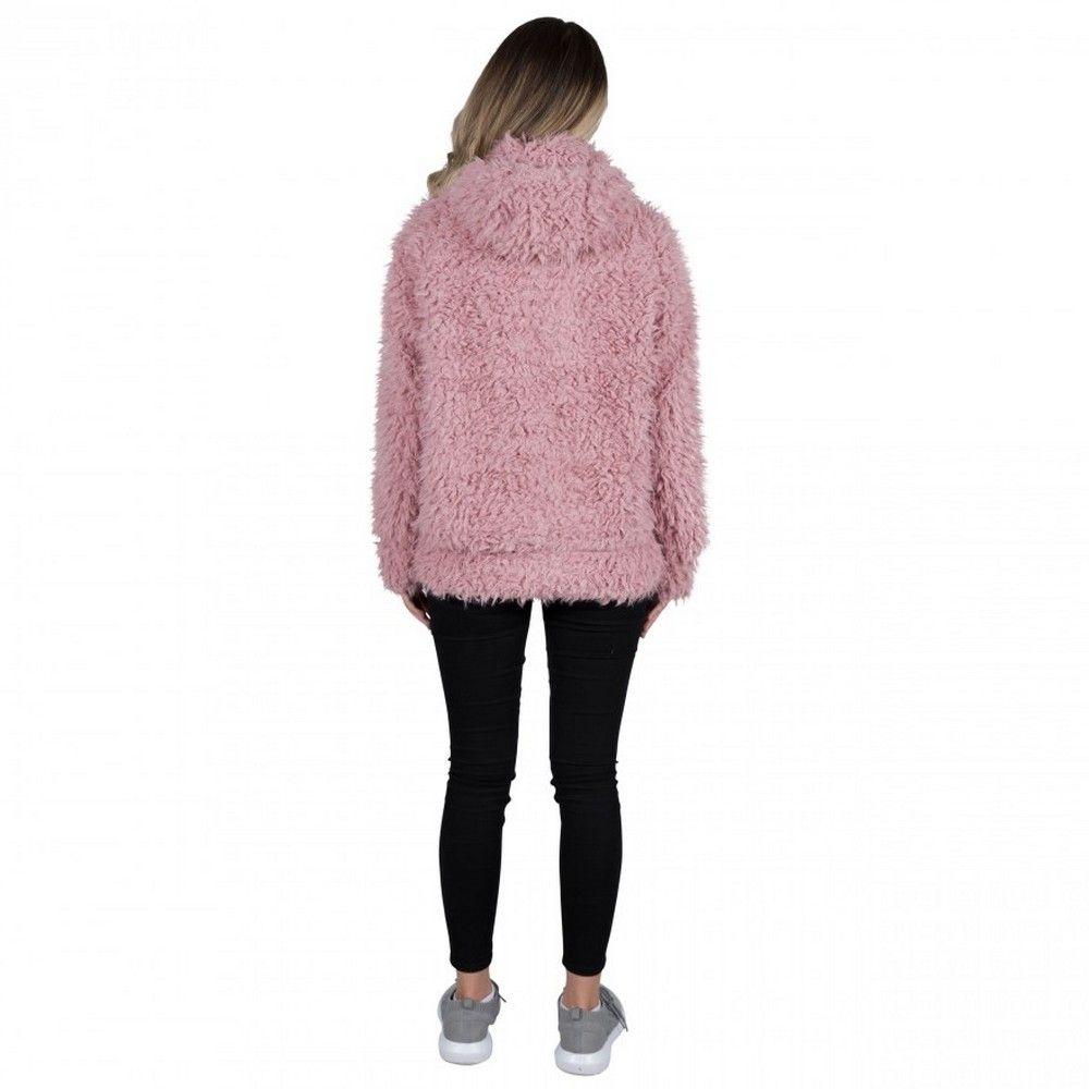 Trespass Womens/Ladies Fluffyness Hooded Fleece Jacket