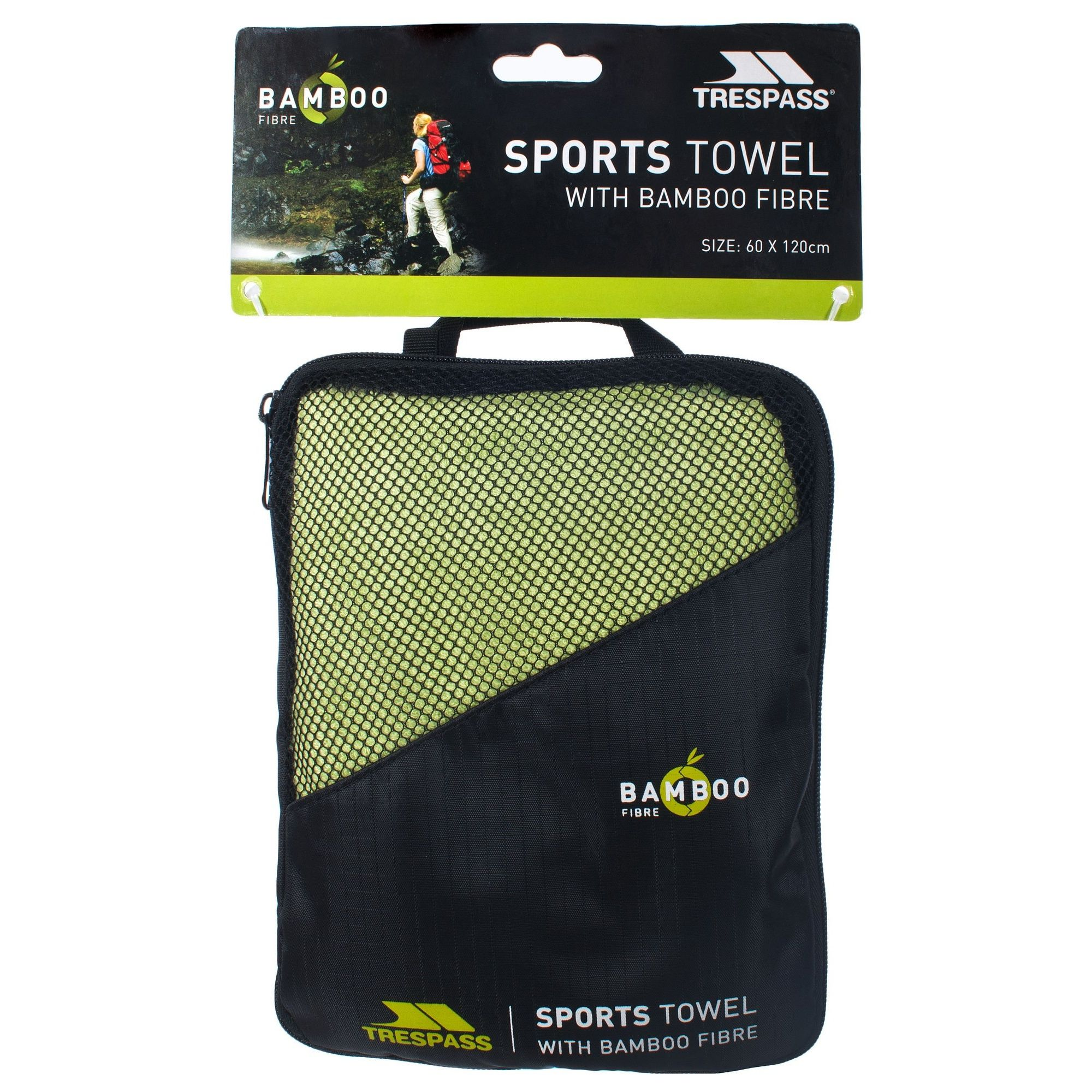 Trespass Wickerman Bamboo Sports Towel