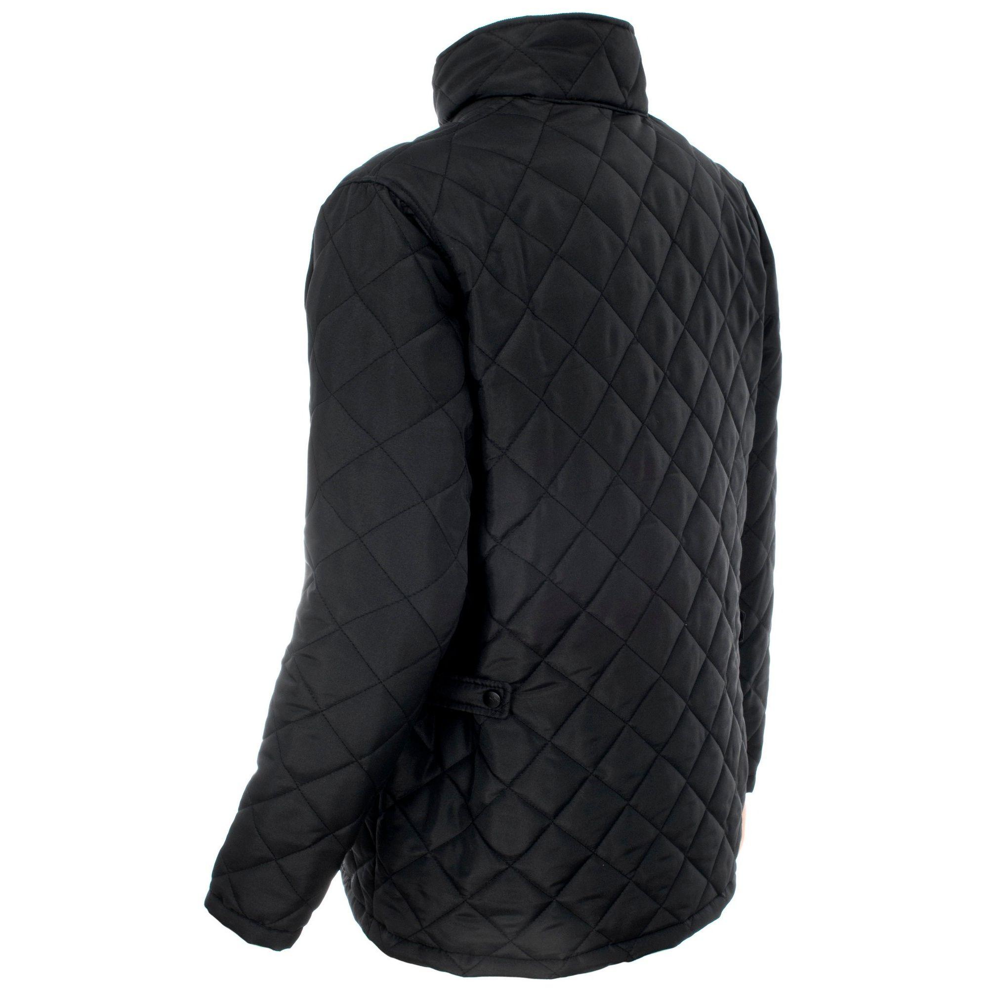 Trespass Mens Argyle Quilted Jacket