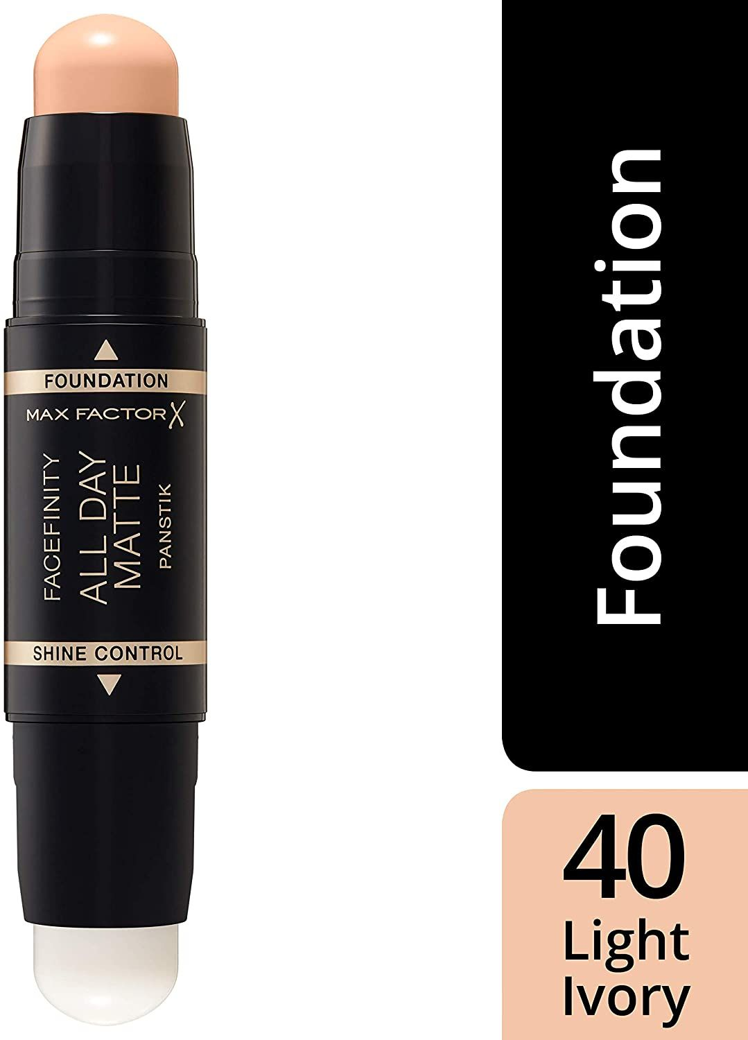 3x Max Factor Facefinity All Day Matte 2in1 PanStik Foundation 40 Light Ivory