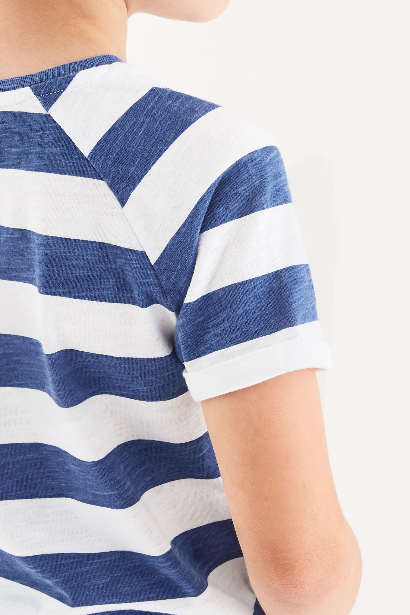 Boys  Striped Sacoor Youth T-Shirt