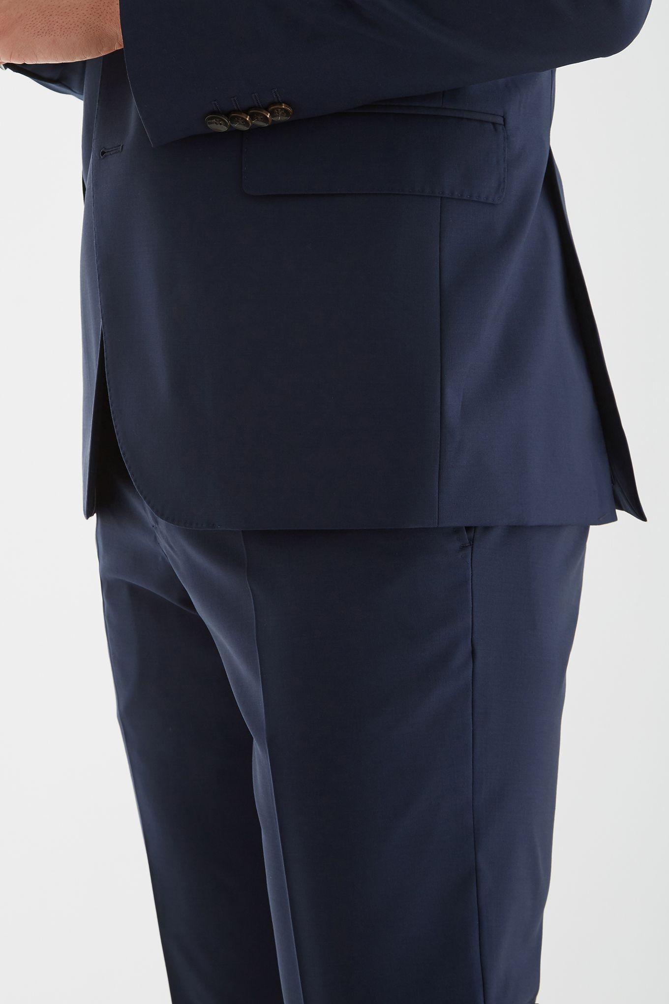 Men s Slim Fit Classic Plain Suit.