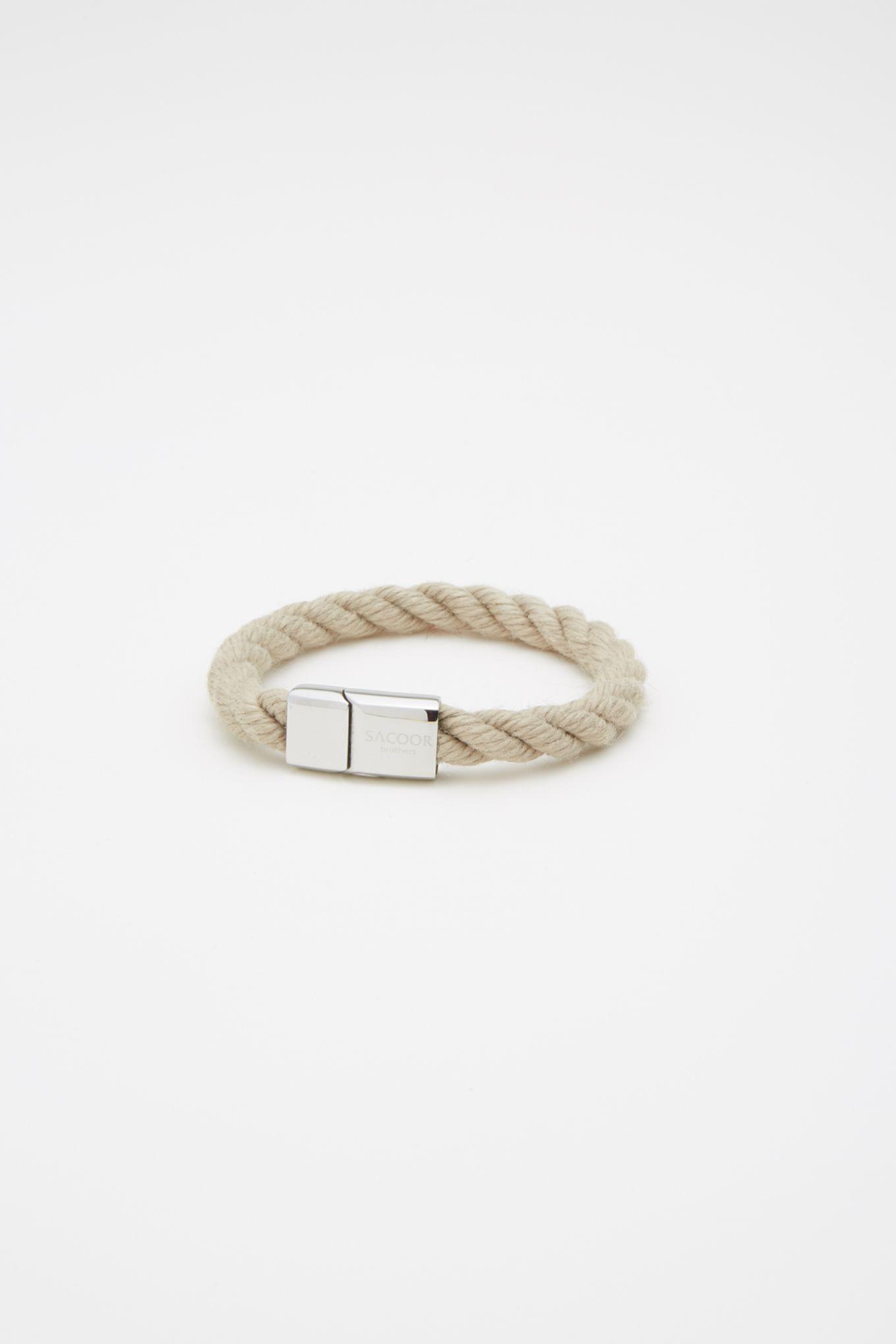 Mens strand bracelet