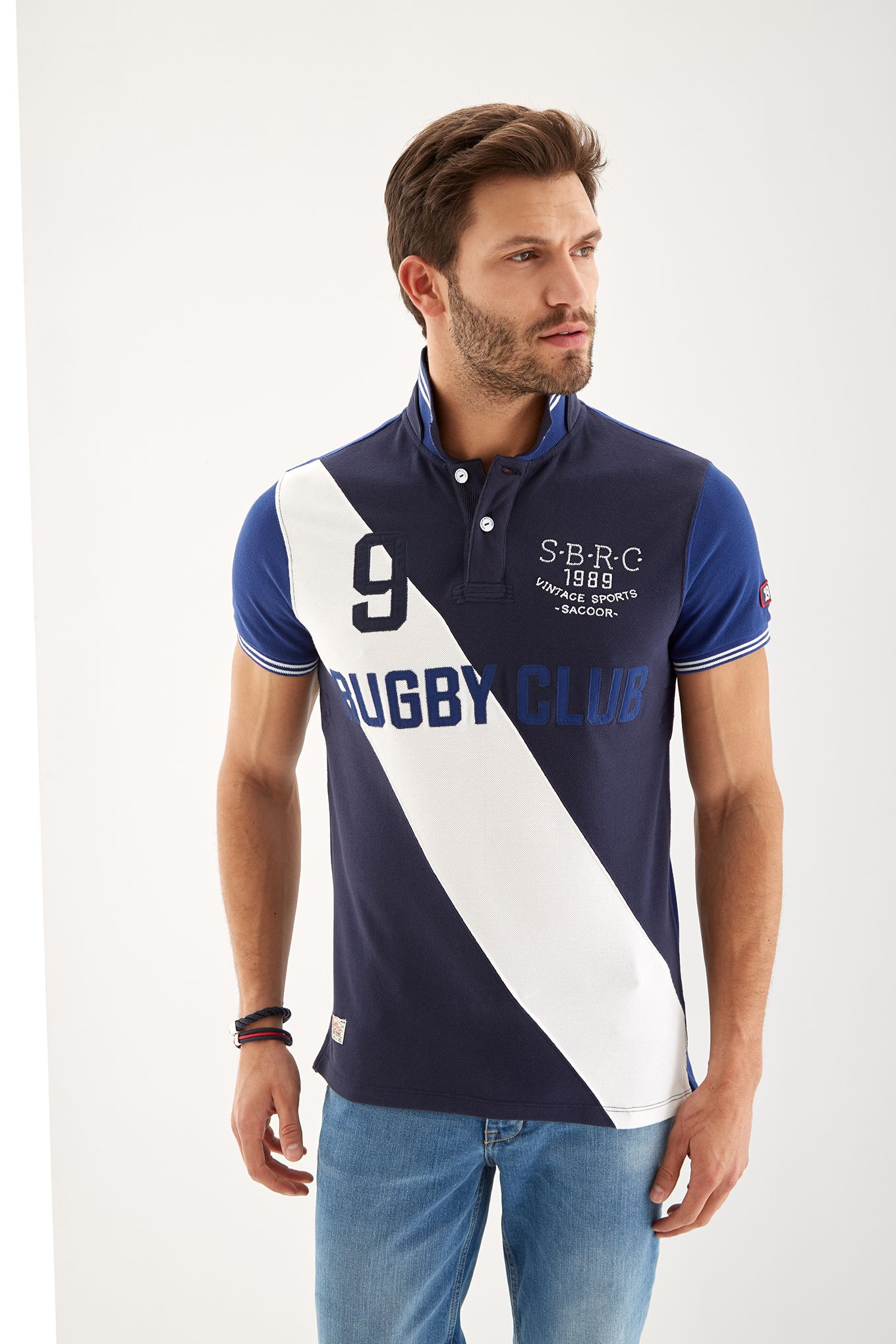 Men s Sports Piquet Polo Shirt