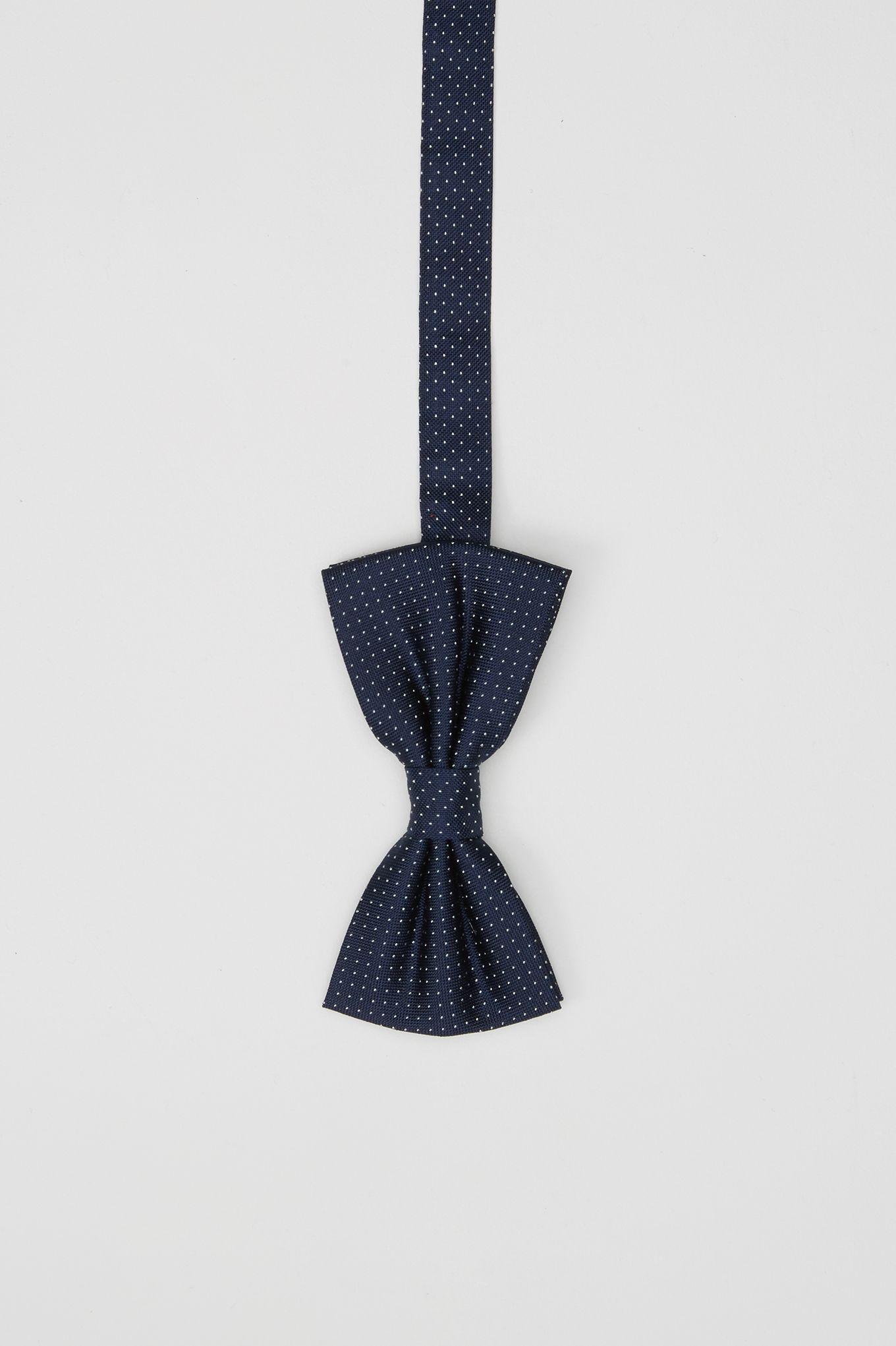 Mens Small Polka Dot Classic Bow Tie