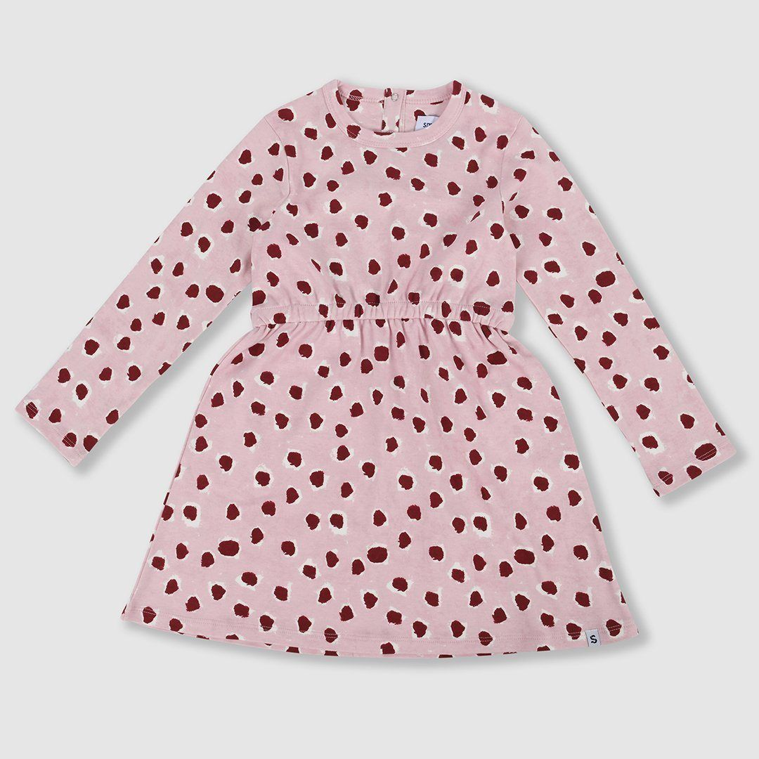 Painted Dot Jersey Dress