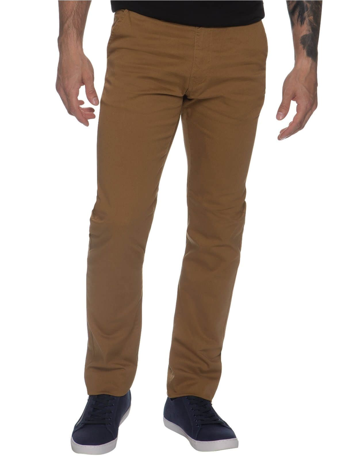 Mens Chinos Slim Fit Stretch Jeans | Enzo Designer Menswear