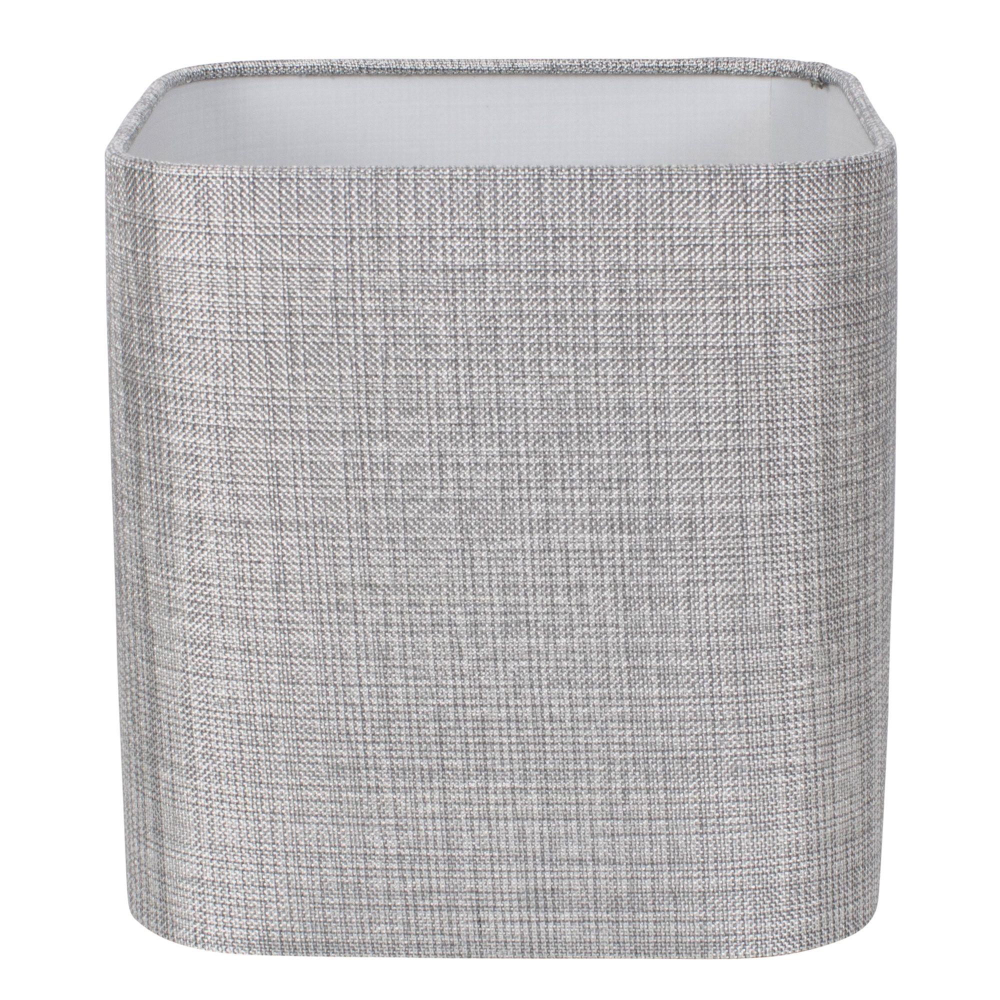 Linen 25cm Shade Silver