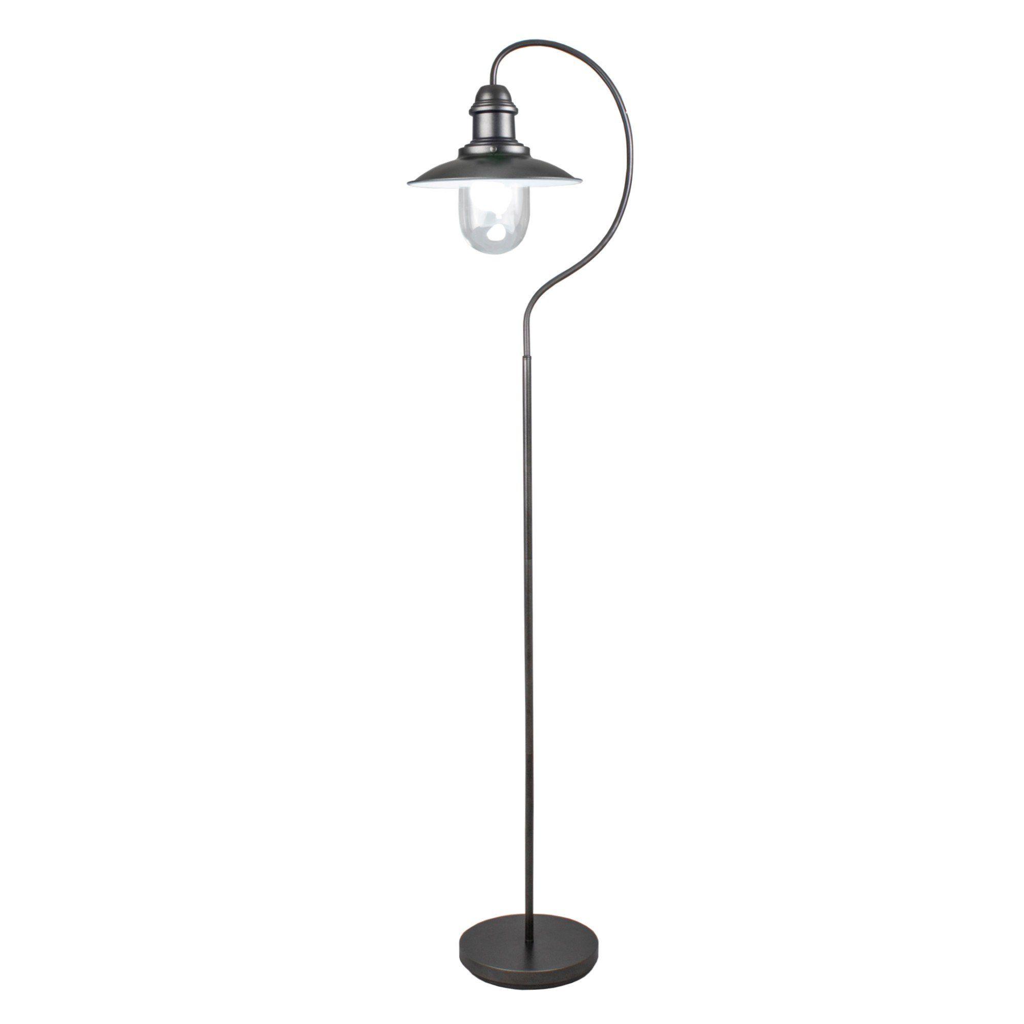 Knot Black Fisherman 158cm Floor Lamp
