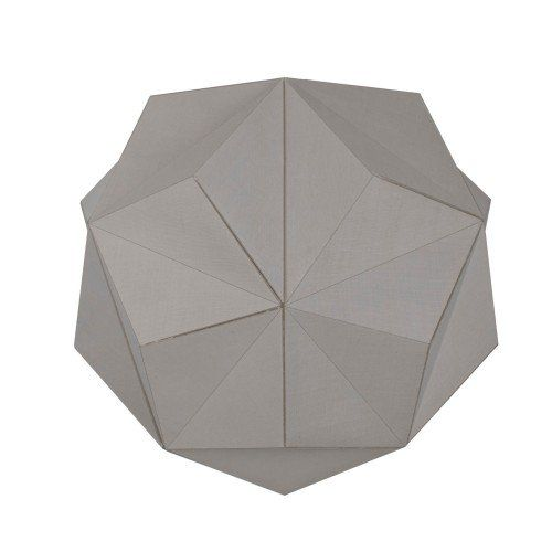 Duggan Grey Geometric Pendant Ceiling Light Shade