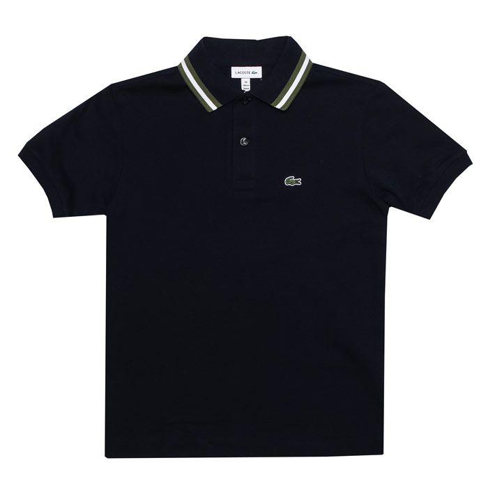 Boy's Lacoste Infant Polo Shirt in Navy