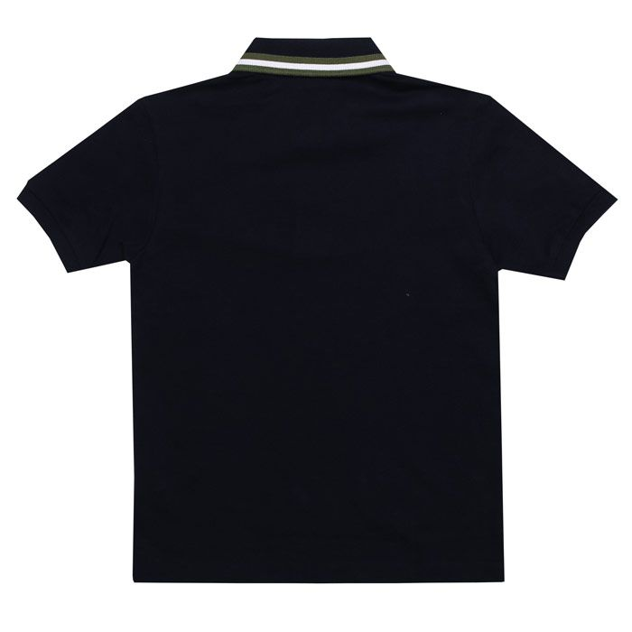 Boy's Lacoste Junior Polo Shirt in Navy