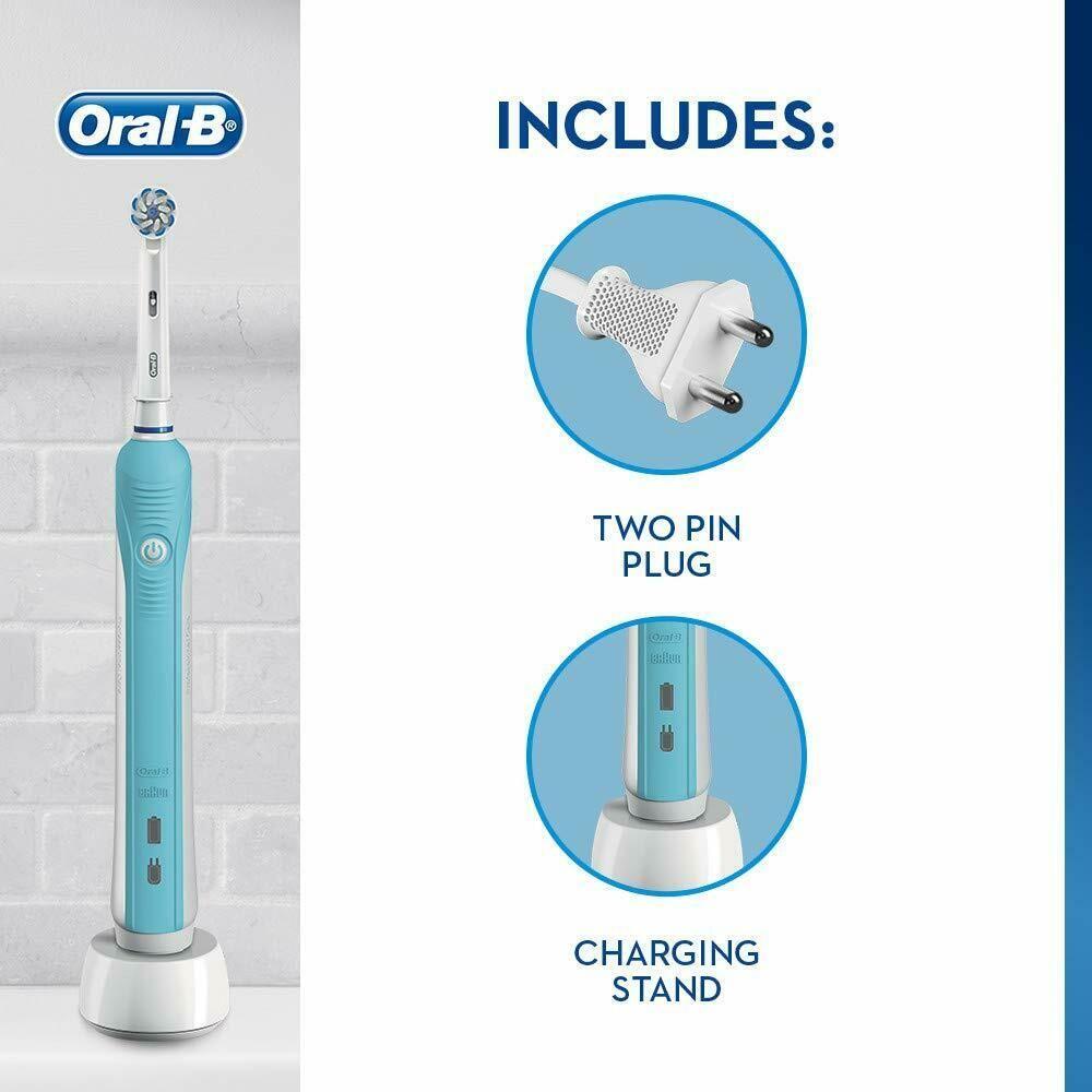 Oral B Pro 600 Sensitive Ultrathin Electric Toothbrush 1