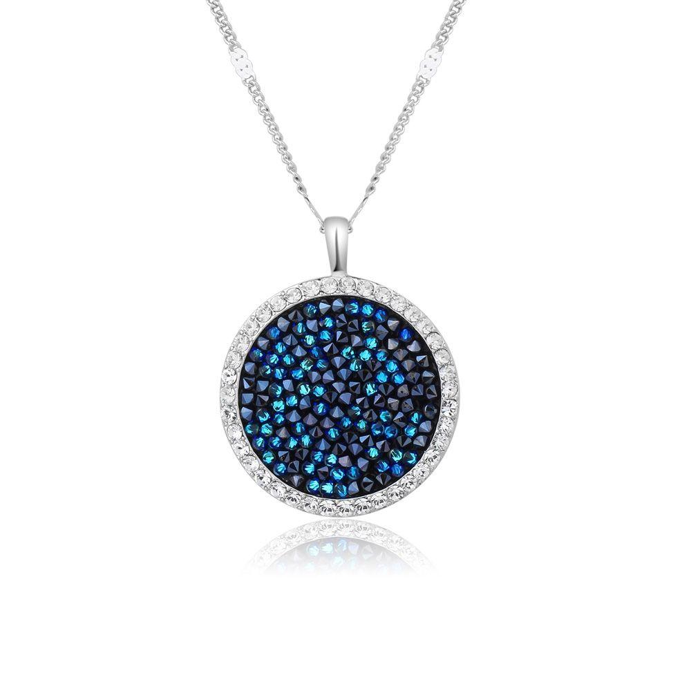 Swarovski - Rock Blue Swarovski Crystal Elements Pendant