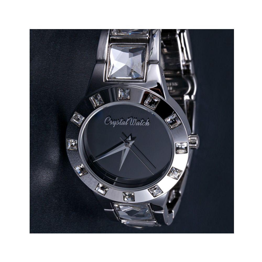 Swarovski - Crystal Watch with genuine white Swarovski Crystal Elements