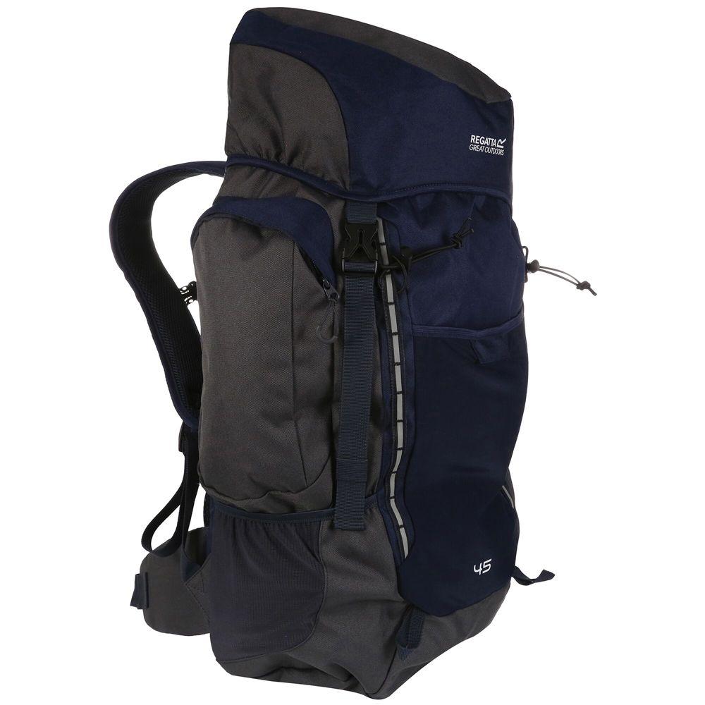 Regatta Mens Highton 45 Litre Polyester Backpack Rucksack