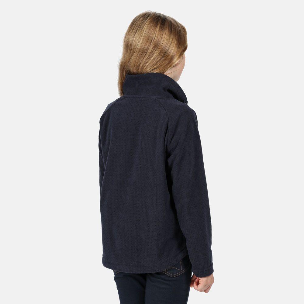 Regatta Girls Harika Polyester Fleece Jacket