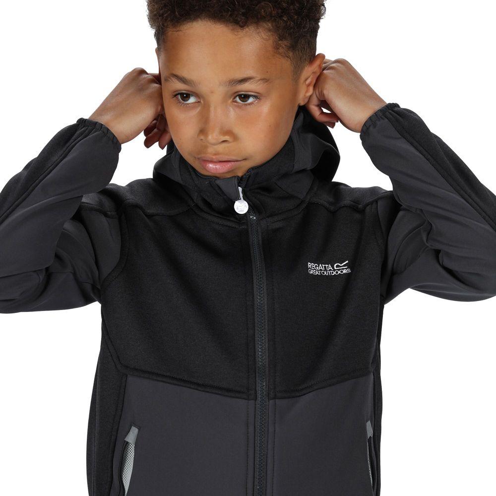 Regatta Boys Bracknell II Polyester Softshell Jacket