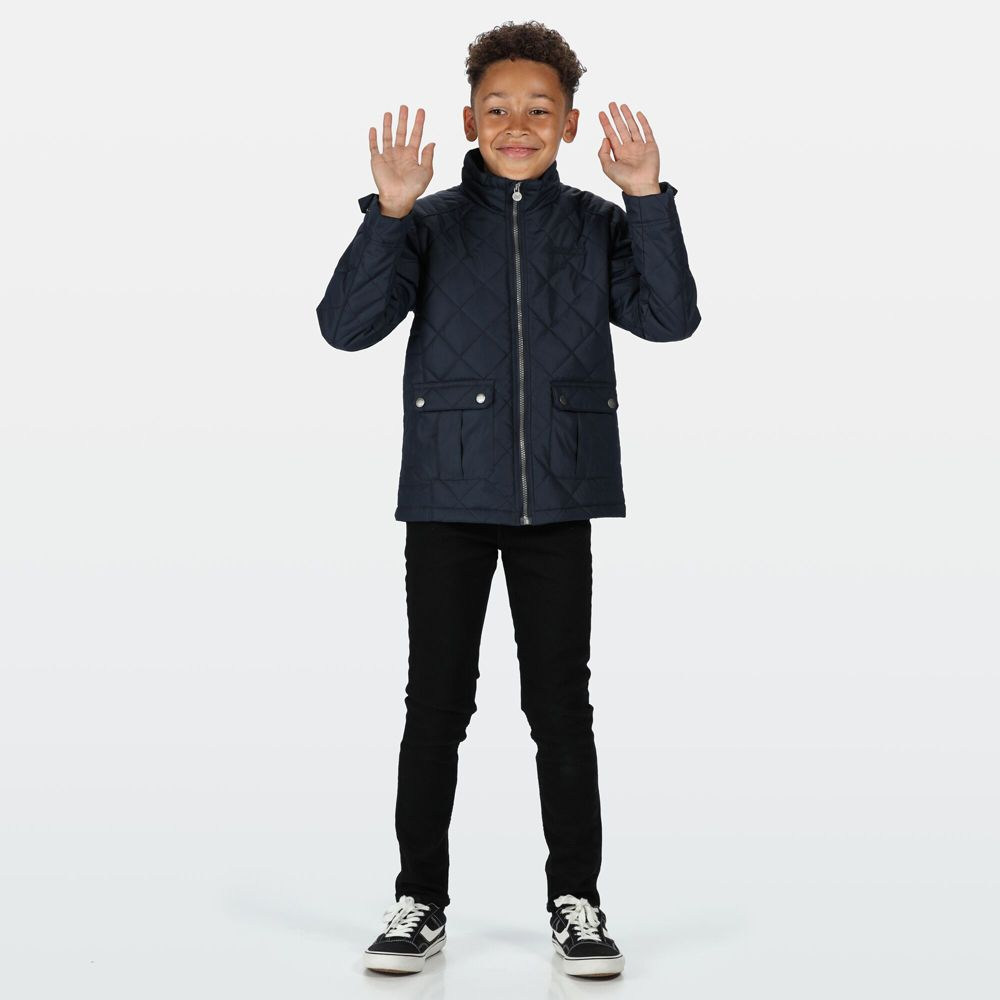 Regatta Boys Zion Polyester Casual Quilted Country Jacket
