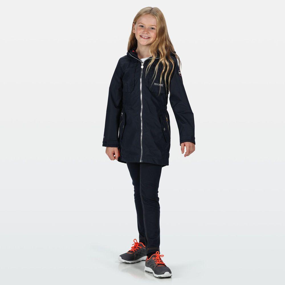 Regatta Girls Tarana Polyester Waterproof Breathable Jacket