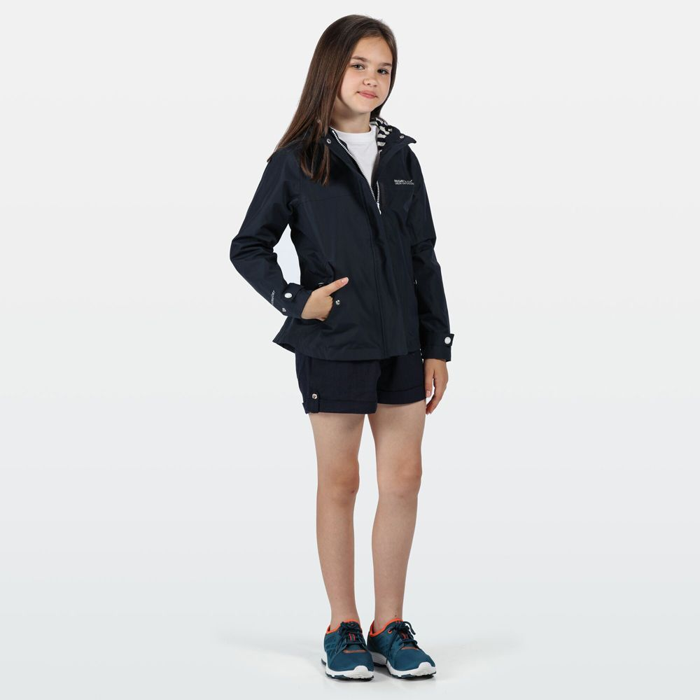 Regatta Girls Bibiana Polyester Waterproof Hydrafort Jacket