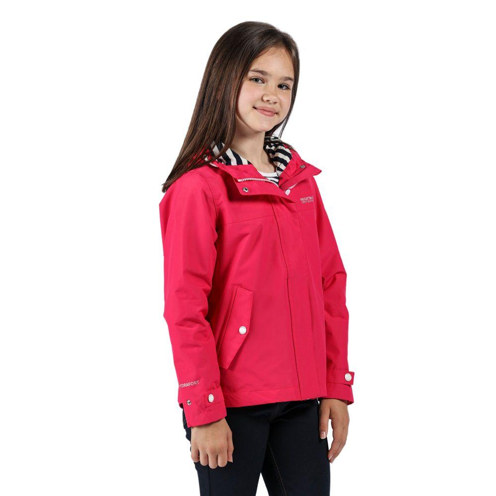 Regatta Girls Bibiana Polyester Waterproof Hydrafort Jacket