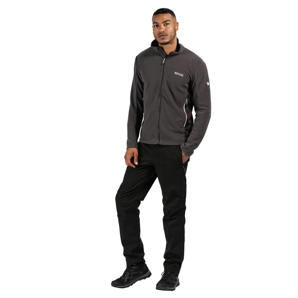 Regatta Mens Highton Cotton Full Zip Fleece Jacket