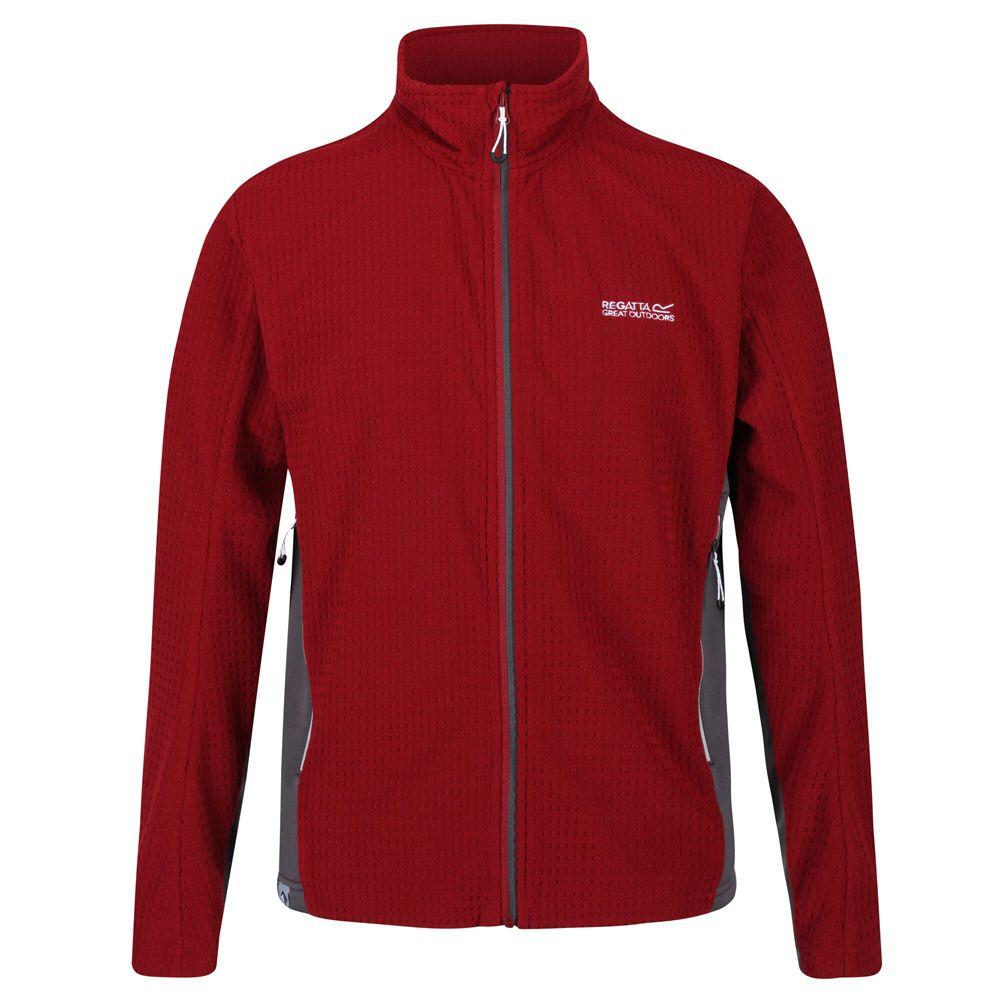 Regatta Mens Highton Cotton Full Zip Fleece Jacket