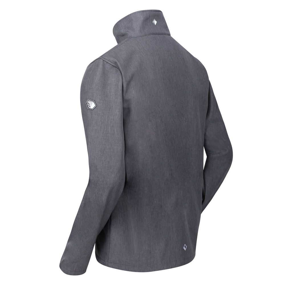 Regatta Mens Cera IV Breathable Full Zip Softshell Jacket