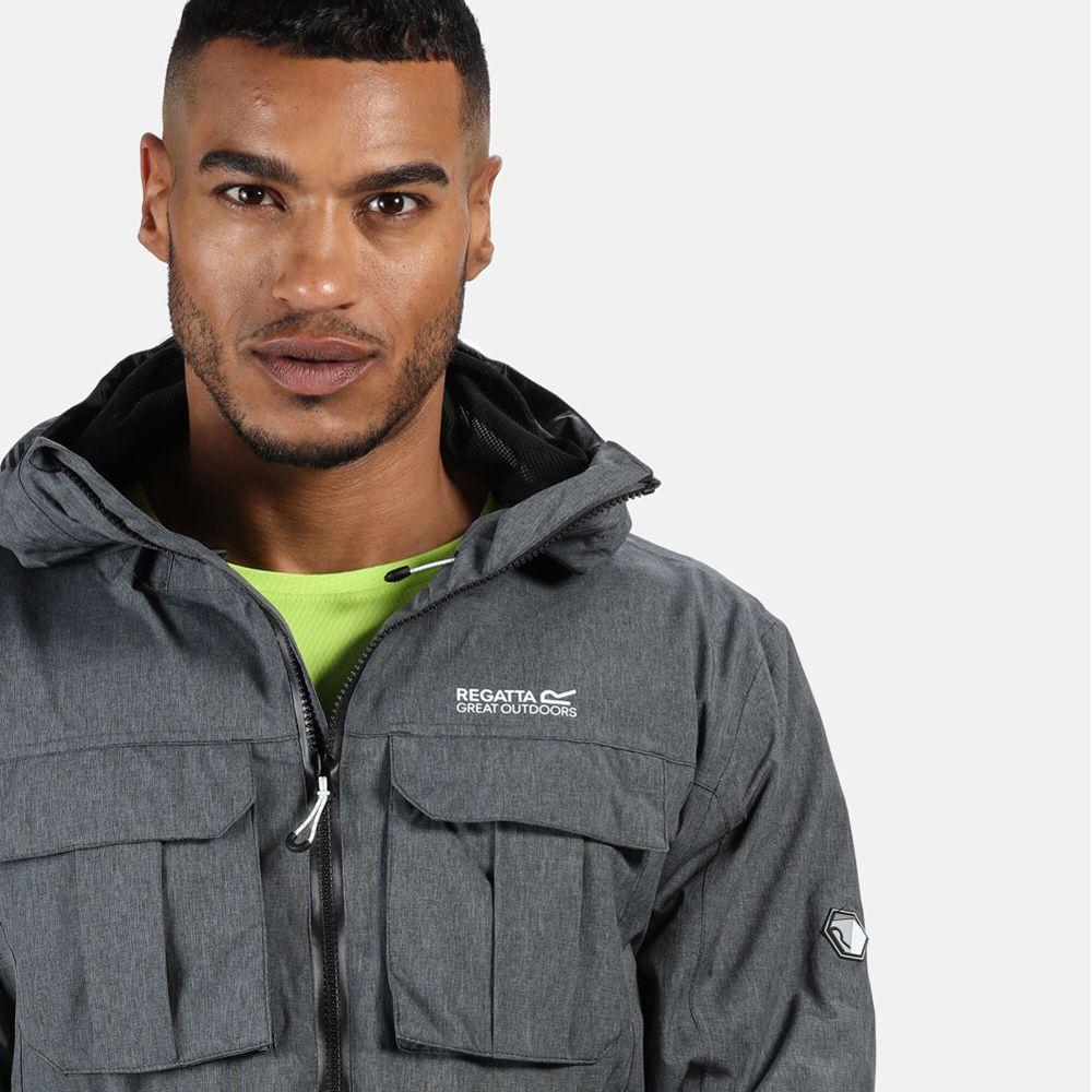 Regatta Mens Centric Waterproof Breathable Durable Jacket