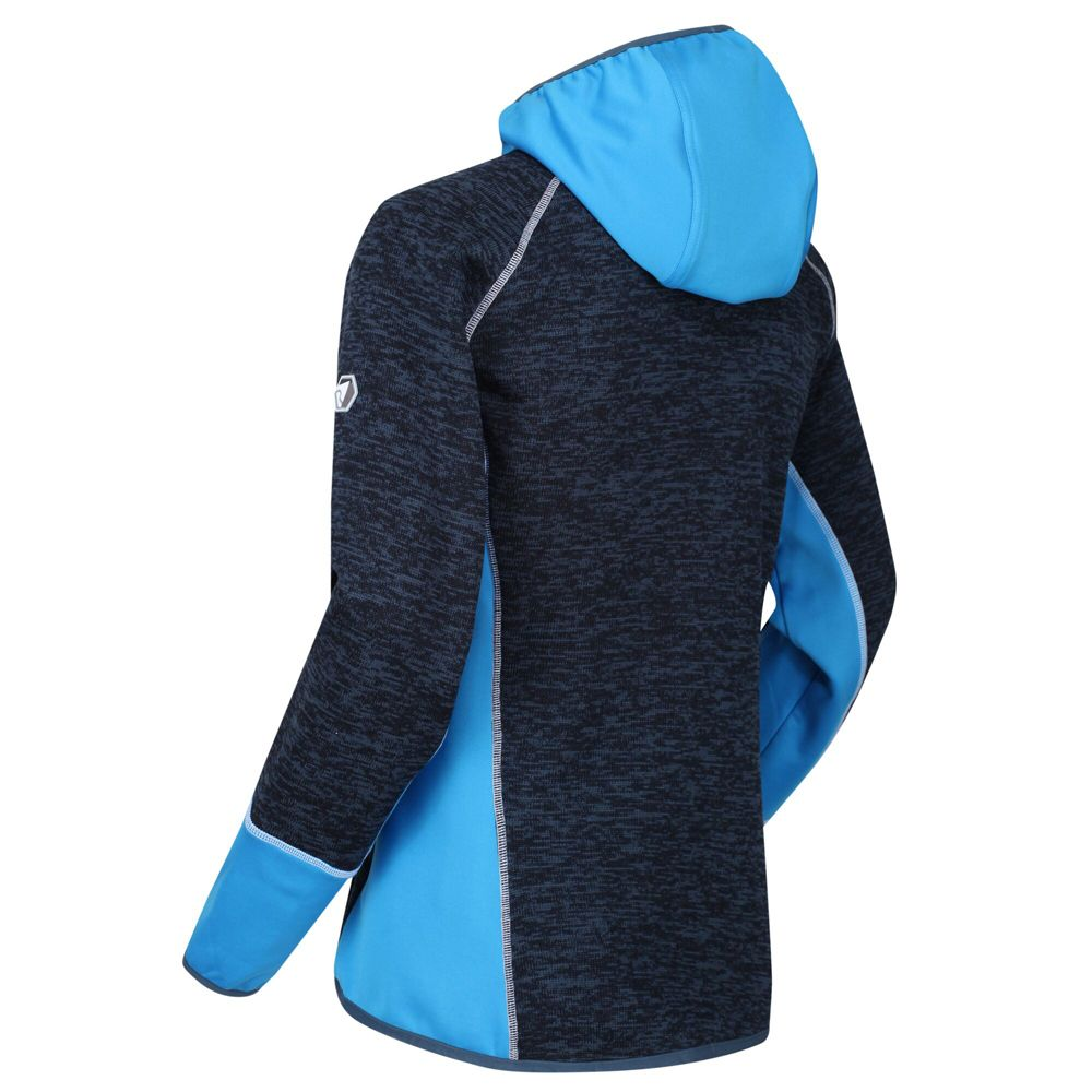 Regatta Womens Willowbrook VII Marl Knit Hoodie Sweater