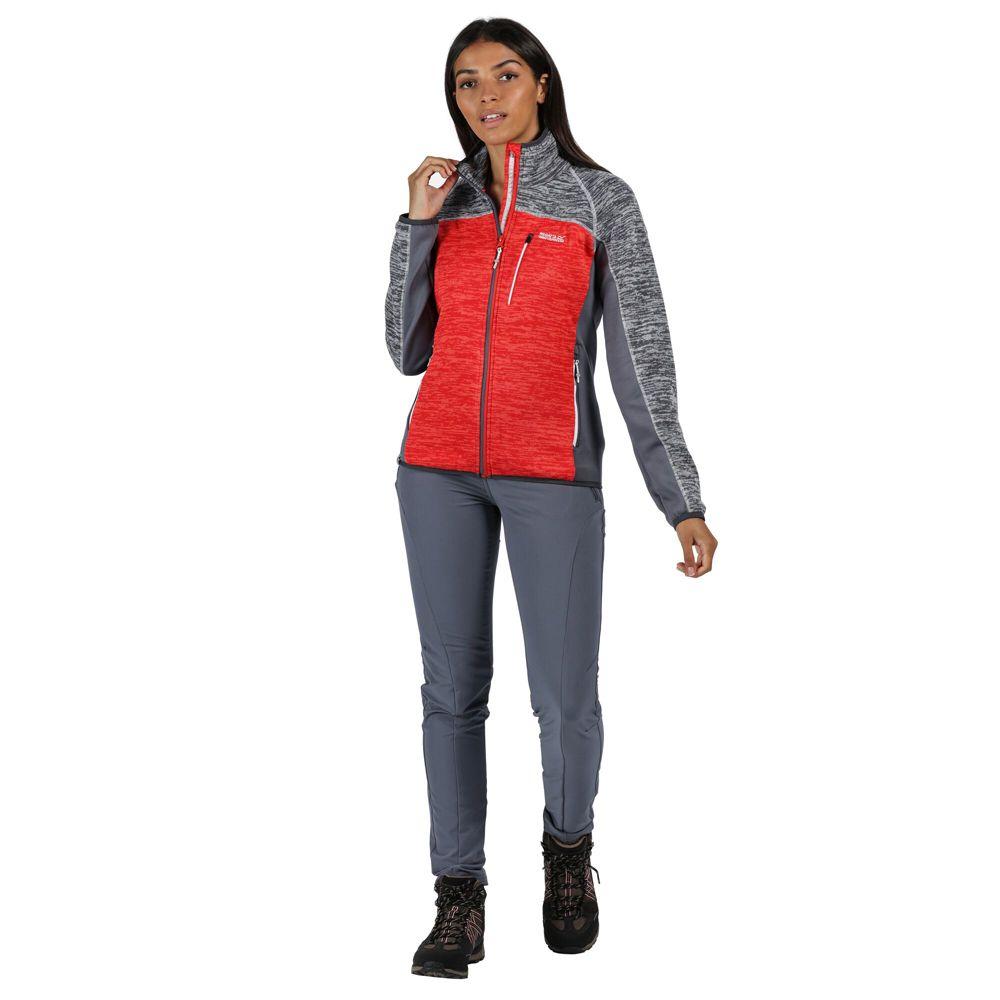 Regatta Womens Laney VII Marl Knit Outdoor Fleece Jacket