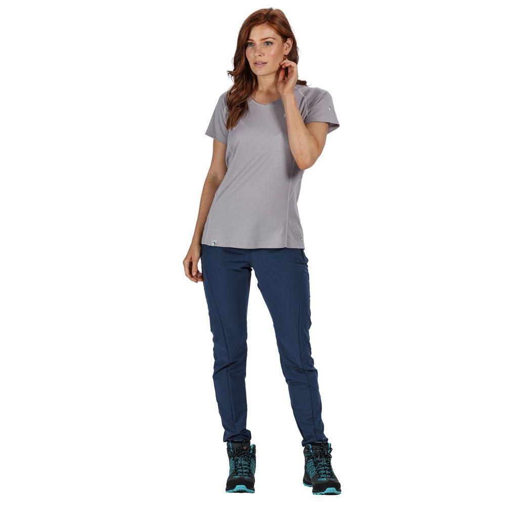 Regatta Womens Pentre Durable Water Repellent Walking Pants