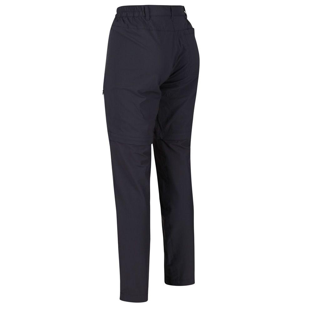 Regatta Womens Highton Zip Off Durable Walking Trousers