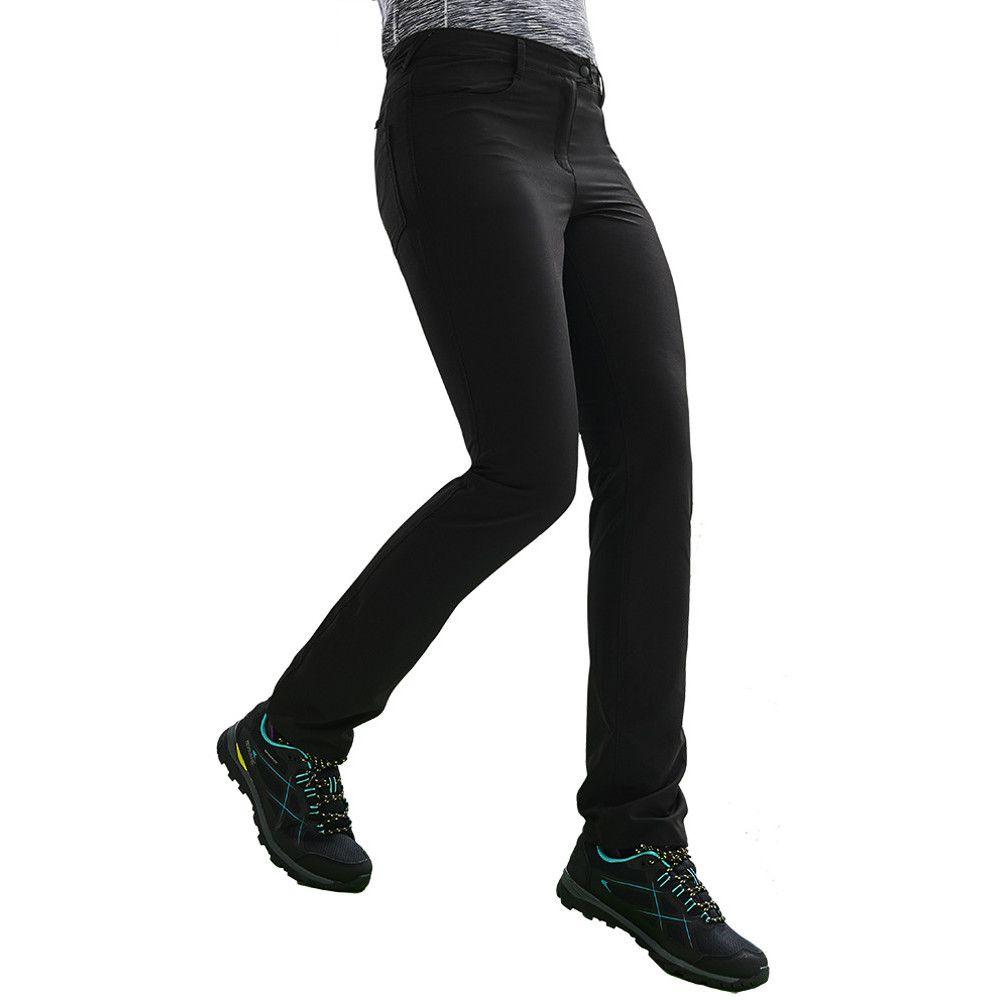 Regatta Womens Highton Stretchy Durable Walking Trousers