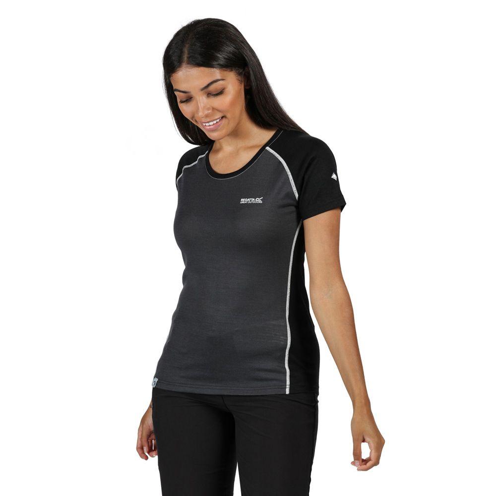Regatta Womens Tornell II Moisture Control Active T Shirt