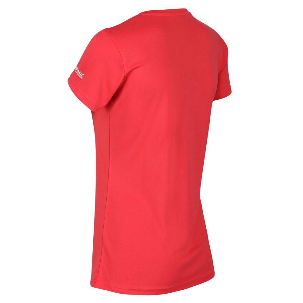 Regatta Womens Fingal V Quick Drying Wicking Graphic T Shirt
