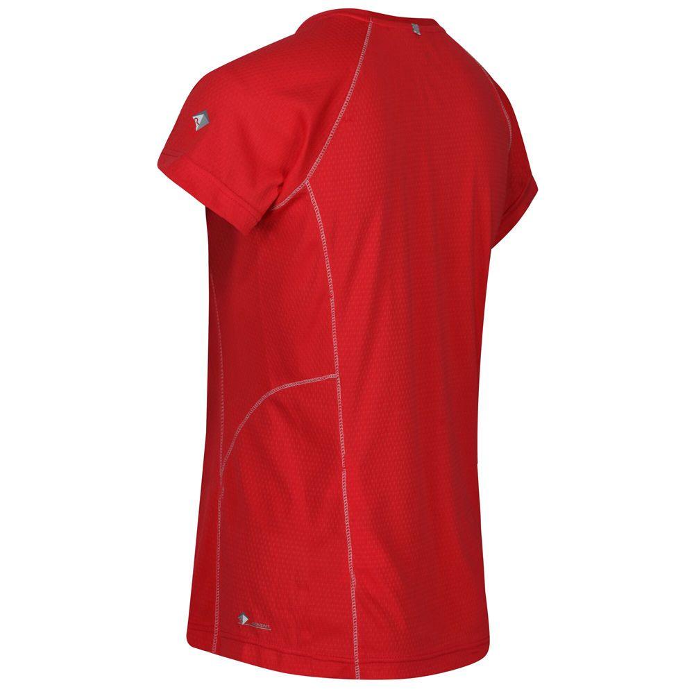 Regatta Womens Devote Coolweave Cotton Wicking T Shirt