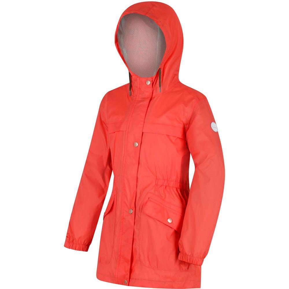 Regatta Boys & Girls Trifonia Waterproof Breathable Sealed Coat Jacket