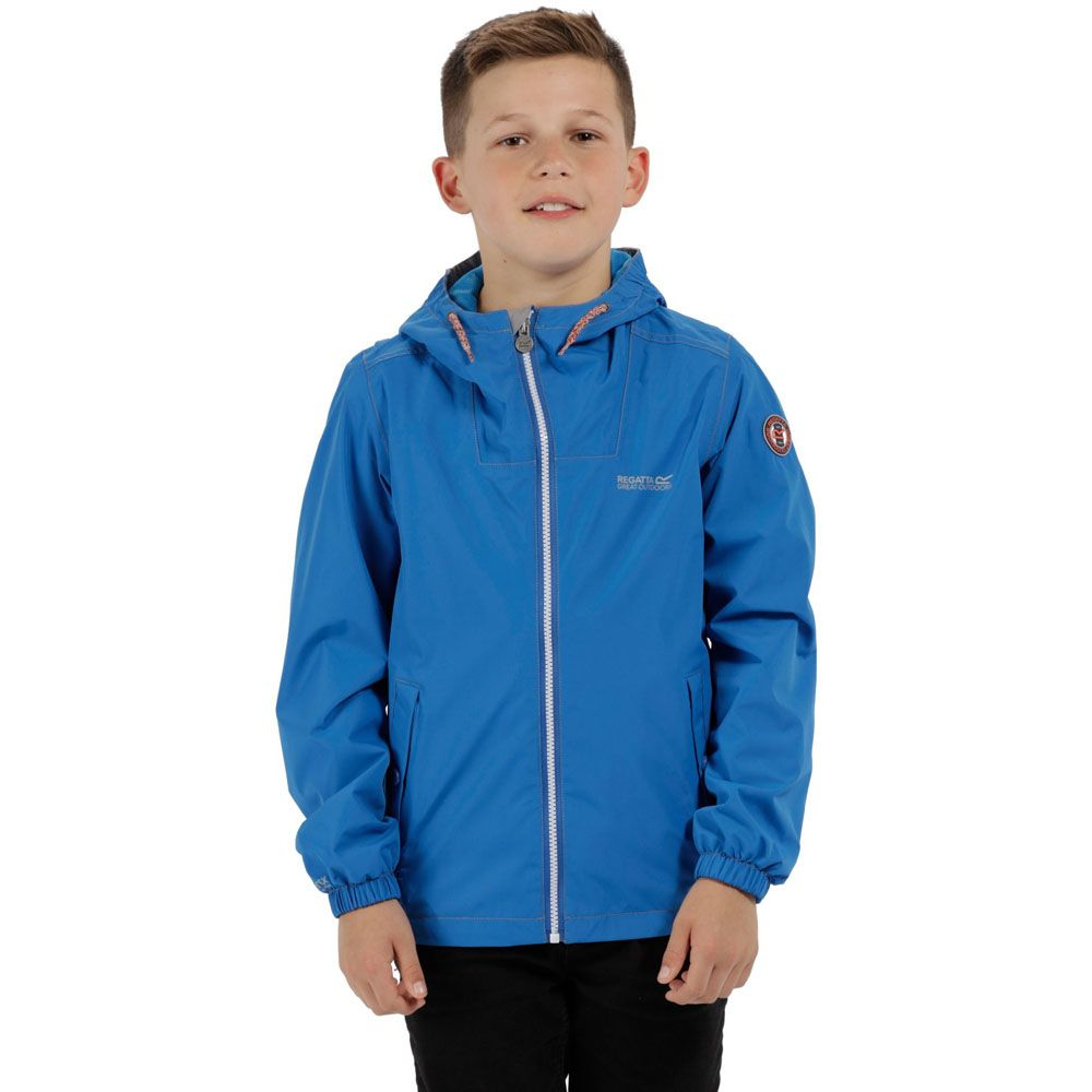Regatta Boys & Girls Henryson Waterproof Breathable Coat Jacket